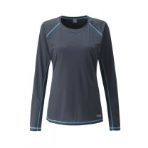 TEE SHIRT ML INTERVAL LADY GRIS - TAILLE XS