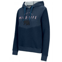 SWEAT LOUANE HOODY LADY DARK BLUE