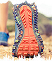 crampons chaussures trail