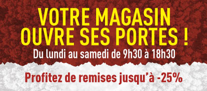ouverture magasin